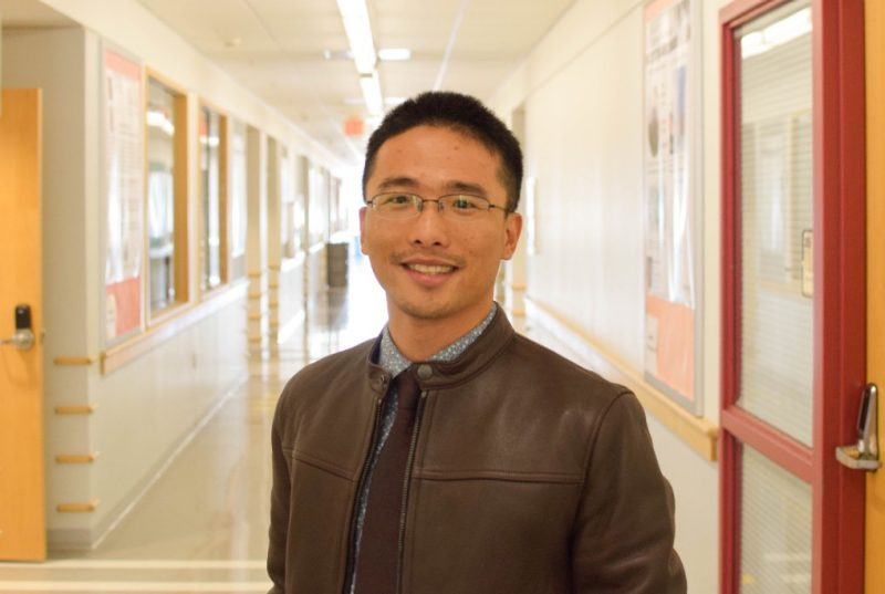 Feng Lin is an assistant professor in the Department of Chemistry